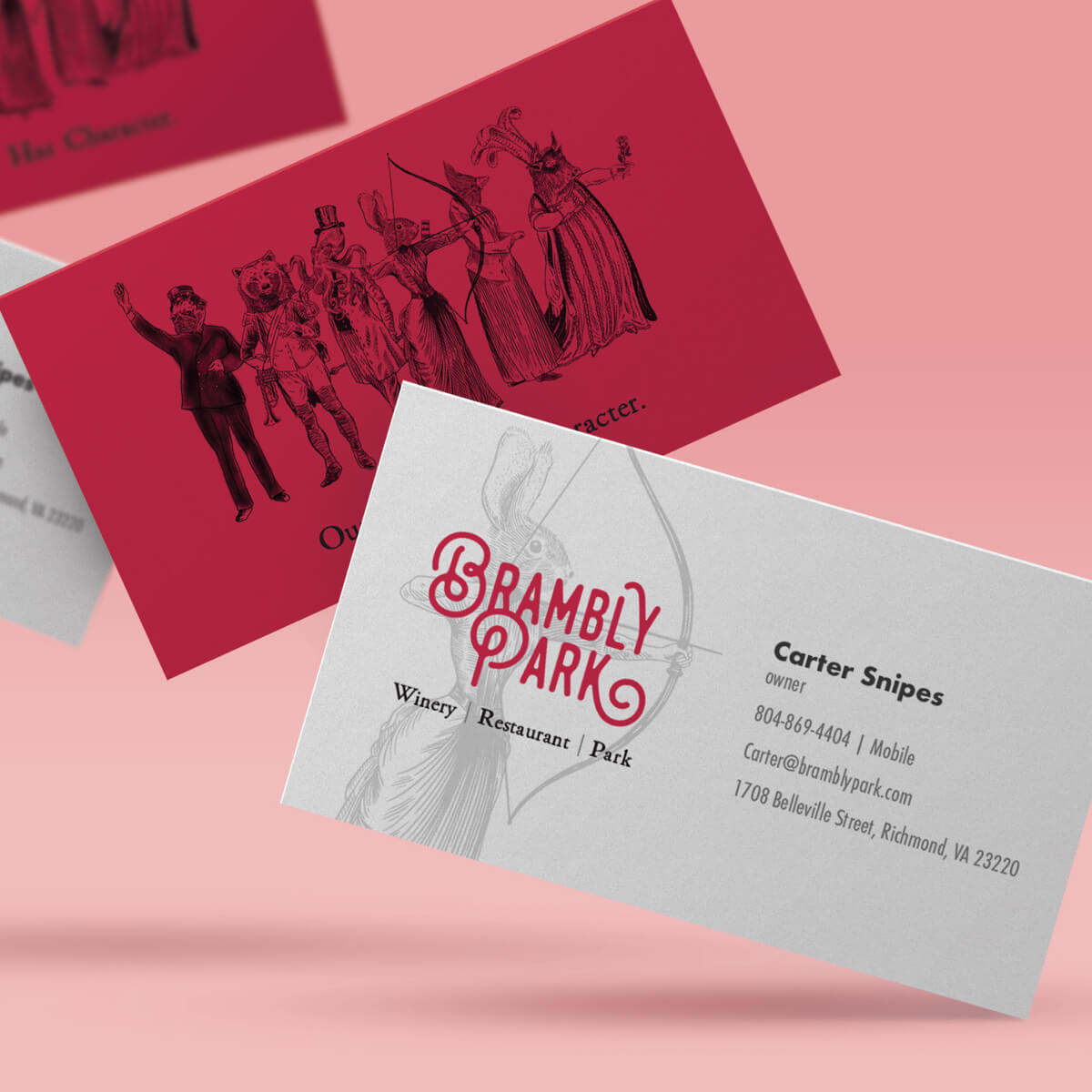 Brambly business card